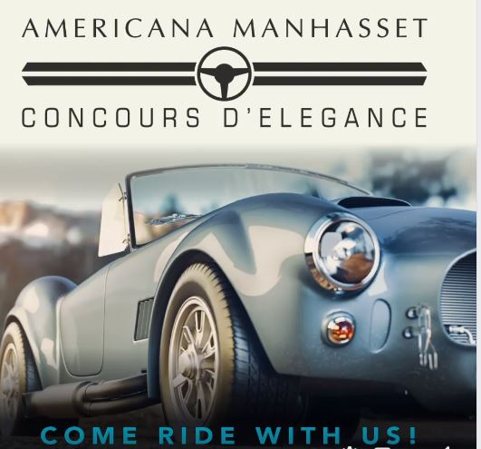 Concours d'Legance car show at Americana Manhasset