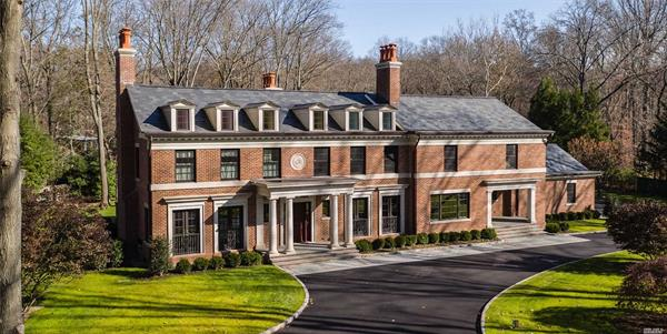 Enjoy Privacy and Property on this Oyster Bay Cove Estate